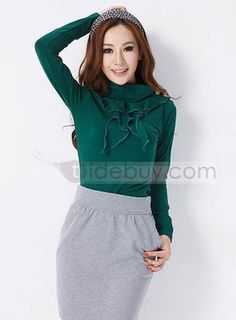 韓国風的 新着 長袖 ファルバーラ  (10435612)