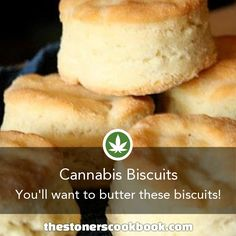 Cannabis Biscuits from the The Stoner's Cookbook Weed Recipes, Marijuana Recipes, Cannabis Edibles, Cooking Recipes, Cannabis Oil, Cooking With Marijuana, Stoner Food, Cannabis Cookbook, Hemp Recipe