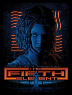 The Geeky Nerfherder: #CoolArt: 'The Fifth Element' 25th Anniversary Prints From Spoke Art