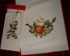 Pinturas d'anita - pintura de la tela: navidad