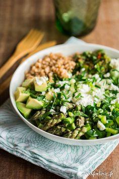 Assiette Complète Toute Verte - Food for Love