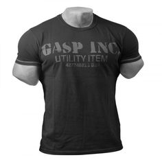 T-shirt from GASP - Buy the Basic Utility Tee in our onlineshop Fitness Stores, T Shirts, Tees, Athletic Outfits, Athletic Clothes, Printed Shorts, Mens Tops, Gym Clothing, Xmas Gifts