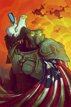 I really wanted to redraw this pic (again) but I haven't had the time around the 4th of July. So here it is now as a proper print for CSCC - this time with the FO4 version of the armor!