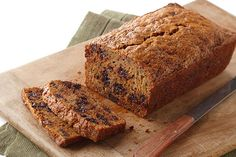 Moist and delicious zucchini bread with semi-sweet chocolate chips - sounds good, right?  It is, but don't take our word for it - bake up our Chocolate Chip-Zucchini Loaf and see for yourself.