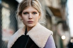The Locals in Milan, Ola Rudnicka #streetstyle #spring #woman