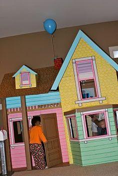 cardboard house ideas
