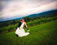 Suzanne & Tim's Whovian winery wedding.