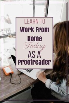 Are you a mom that wants to stay home with your kids and bring in income at the same time? Of course! You can make extra money from home a proofreader? Find out more how you can take advantage of this great opportunity! Work From Home Business, Work From Home Tips, Make Money From Home, Way To Make Money, Business Tips, Make Money Online, Money Fast, Online Business, Craft Business