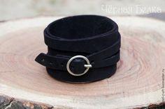 Купить Браслеты двойной намотки - разноцветный, браслет, кожаный браслет…