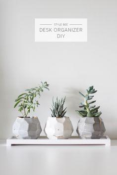 Style Bee - Desk Organizer DIY