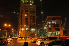 Mushairab Project site from the Souq Waqif.