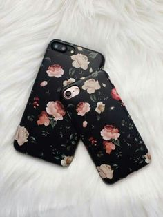 Floral Case for iPhone 7 - Dark Rose - Elemental Cases - - 3 Cool Cases, Cute Phone Cases, Iphone 7 Plus Cases, Floral Iphone Case, Laptop Cases, Coque Smartphone, Coque Iphone, Iphone 8 Plus, Telephone Iphone