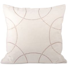Perla Polyester Throw Pillow