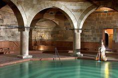 Veli Bej Turkish Bath in Buda - the oldest thermal bath in Budapest.