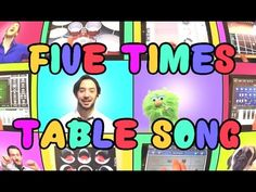 Five Times Table Song (We Can't Stop by Miley Cyrus) Using iPads Only - YouTube