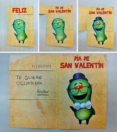 Divertidas tarjetas de los Glumpers para regalar a tu amor el día de San Valentin! -- Fun Glumpers cards of your love gift for Valentine's Day!