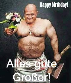 Birthday # Holidays and Occasions Birthday - Celebration Birthday Greetings, Birthday Wishes, Birthday Cards, Happy Birthday, Funny Birthday, Happy B Day, Are You Happy, Becoming A Father, Gym Humor