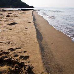 Feiner Sandstrand auf Paxos, Strandurlaub mit ReNatour http://www.korfu-ferienhaus-ferienwohnung.de/neptun