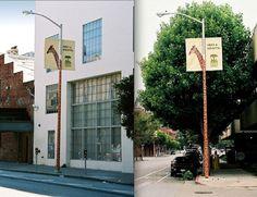 """Meet a Giraffe"" — for the San Francisco Zoo."