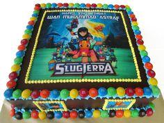 Birthday Cake Edible Image Slugterra