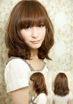 Asian girls bob hairstyle