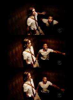 Derek Morgan and Spencer Reid Criminal Minds Funny, Criminal Minds Cast, Best Tv Shows, Favorite Tv Shows, Best Shows Ever, Dr Spencer Reid, Dr Reid, Behavioral Analysis Unit, Crimal Minds
