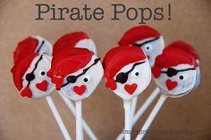 Oreo Pirate Pops