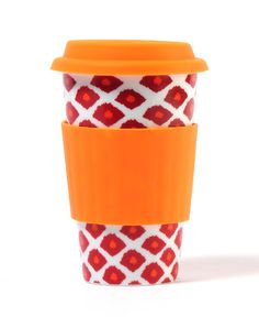 I pinned this Ikat Eco Cup in Red from the Green On-the-Go event at Joss and Main! Travel Cup, Coffee Travel, Eco Cup, Spice Trade, Coffee Mugs, Drinking Coffee, Coffee Time, Morning Coffee, Virginia Tech Hokies