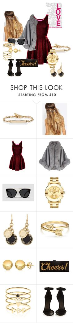 """Casual Look#15"" by onelastmagicalwish on Polyvore featuring Hoorsenbuhs, Johnny Loves Rosie, Harrods, Odin, Movado, Marc by Marc Jacobs, Bling Jewelry, Sevil Designs, Edie Parker and Accessorize"