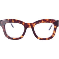85200d615f0 Pre-owned Stella McCartney Oversize Cat-Eye Glasses (£94) ❤ liked on Polyvore  featuring accessories