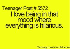 especially with my bro, because we totally get each other and understand each other's crazy sense of humor.