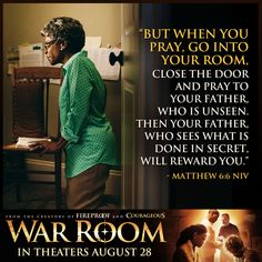Awesome movie!! Great inspiration to keep prayer for others.