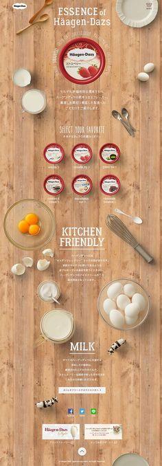For food, cafe, restaurant website