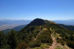 Puntas de la Sora (1707 metros) y Bacials (1689 metros)