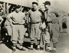 Jimmie Foxx, Babe Ruth, and Lou Gehrig joined other American League players to form a special tour team called the All Americans for the 1934 goodwill trip to Japan. - (National Baseball Hall of Fame Library) Baseball Quilt, Baseball Live, Baseball Posters, Baseball Pants, Baseball Movies, Baseball Jerseys, Basketball, National Baseball League, National League