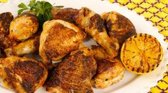 Portuguese BBQ Chicken Dinner - Season 4 Episode 38 - Best Recipes Ever - Today's menu brings the authentic flavour of a Portuguese BBQ Chicken Dinner right to your table. On today's menu: Portuguese Barbecued Chicken Turkey Dishes, Turkey Recipes, Chicken Recipes, Barbecued Chicken, Bbq Chicken, Chicken Paprika, Dipping Sauces For Chicken, Portuguese Recipes, Portuguese Food
