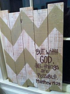 wood pallets art | Wood Pallet Art Chevron Matthew 1926 by HollysHobbiesTN on Etsy, $50 ...