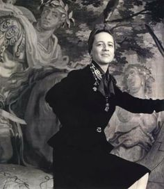 Diane Vreeland, photographed by Cecil Beaton