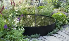 Why You Should Invest In Simple Water Features For Your Home Garden – Pool Landscape Ideas Backyard Pool Landscaping, Garden Pool, Water Garden, Landscaping Ideas, Pool Water Features, Water Features In The Garden, Small Gardens, Outdoor Gardens, Small Garden Design