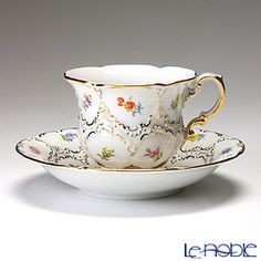 Meissen Coffee Cup & Saucer