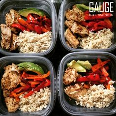Tired of coming up with your own meal ideas and end up eating the same thing over and over again? Get a professionally formulated, custom meal plan from Gauge Girl Training, save time, money, and the confusion on how to eat to reach your goals. Contact christine@musclegauge.com today!