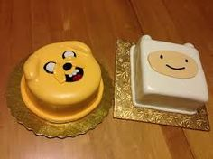 Resultado de imagen para adventure time birthday cake