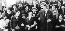 Movie Still from Gentlemen of Nerve - 1914