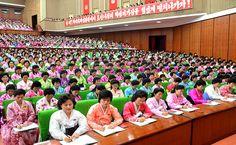 조선민주녀성동맹 제6차대회 진행-《조선의 오늘》