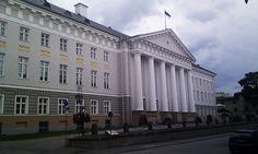 Tartu University, creada por los suecos en el siglo xviii