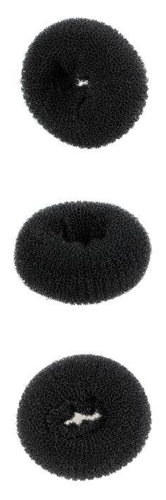 Fashion trend Donut balls head bun hair ring ,hairdressing tools hair ring Medium