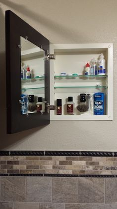 Customer Photos | Testimonial Reviews For The Worldu0027s Only Recessed Medicine  Cabinet With A Picture Frame