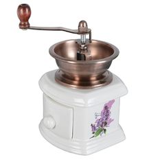 mlýnek na kávu keramika dekorační
