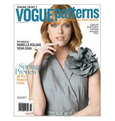 Vogue Patterns Magazine February/March 2011 $5.95 - $1.19 5/8/13
