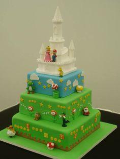 Super Mario Wedding On Pinterest Super Mario Cake Super Mario Bros And Wed
